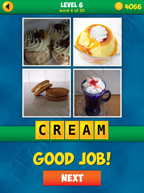 4 Pics 1 Word Puzzle - More Words - Level 6 Word 4 Solution