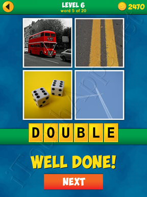 4 Pics 1 Word Puzzle - More Words - Level 6 Word 5 Solution