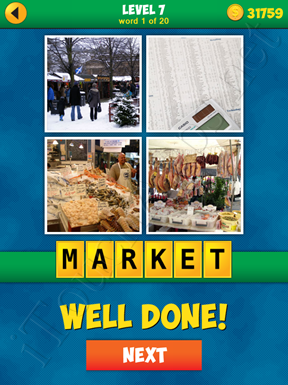 4 Pics 1 Word Puzzle - More Words - Level 7 Word 1 Solution
