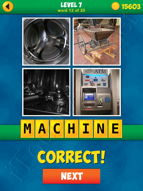 4 Pics 1 Word Puzzle - More Words - Level 7 Word 12 Solution