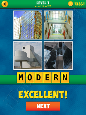 4 Pics 1 Word Puzzle - More Words - Level 7 Word 14 Solution