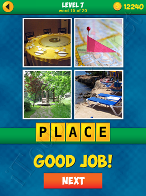 4 Pics 1 Word Puzzle - More Words - Level 7 Word 15 Solution