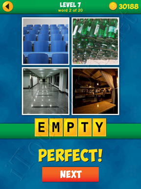 4 Pics 1 Word Puzzle - More Words - Level 7 Word 2 Solution