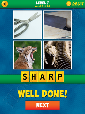 4 Pics 1 Word Puzzle - More Words - Level 7 Word 3 Solution