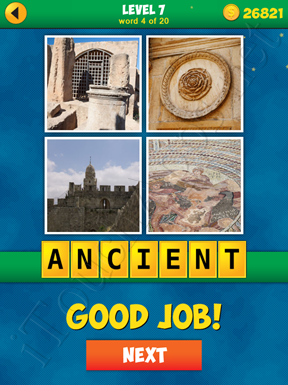 4 Pics 1 Word Puzzle - More Words - Level 7 Word 4 Solution