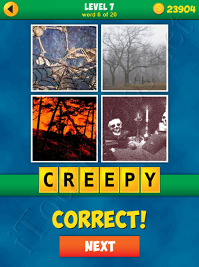 4 Pics 1 Word Puzzle - More Words - Level 7 Word 6 Solution