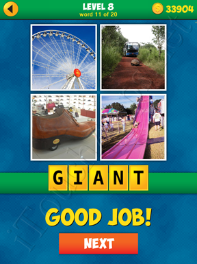 4 Pics 1 Word Puzzle - More Words - Level 8 Word 11 Solution