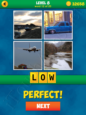 4 Pics 1 Word Puzzle - More Words - Level 8 Word 12 Solution