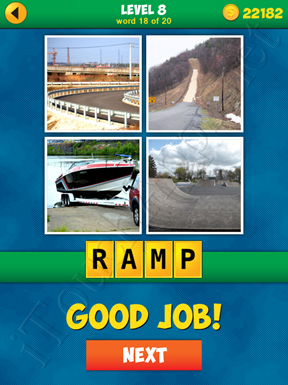 4 Pics 1 Word Puzzle - More Words - Level 8 Word 18 Solution
