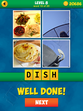 4 Pics 1 Word Puzzle - More Words - Level 8 Word 19 Solution