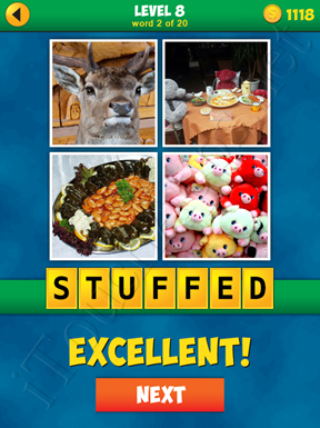 4 Pics 1 Word Puzzle - More Words - Level 8 Word 2 Solution