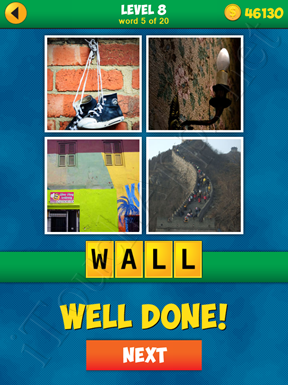 4 Pics 1 Word Puzzle - More Words - Level 8 Word 5 Solution