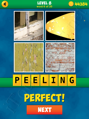 4 Pics 1 Word Puzzle - More Words - Level 8 Word 6 Solution