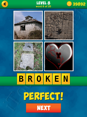 4 Pics 1 Word Puzzle - More Words - Level 8 Word 8 Solution