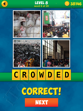 4 Pics 1 Word Puzzle - More Words - Level 8 Word 9 Solution
