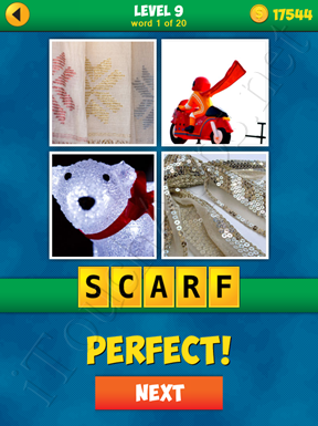 4 Pics 1 Word Puzzle - More Words - Level 9 Word 1 Solution