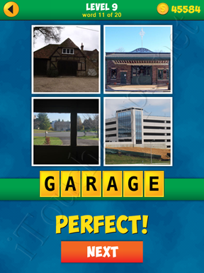 4 Pics 1 Word Puzzle - More Words - Level 9 Word 11 Solution