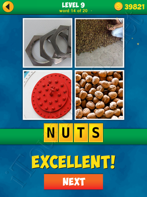 4 Pics 1 Word Puzzle - More Words - Level 9 Word 14 Solution