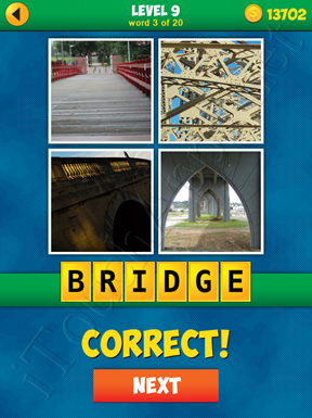 4 Pics 1 Word Puzzle - More Words - Level 9 Word 3 Solution