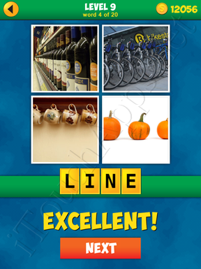 4 Pics 1 Word Puzzle - More Words - Level 9 Word 4 Solution