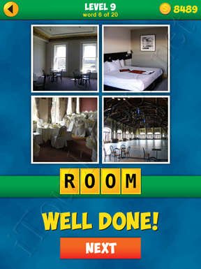 4 Pics 1 Word Puzzle - More Words - Level 9 Word 6 Solution