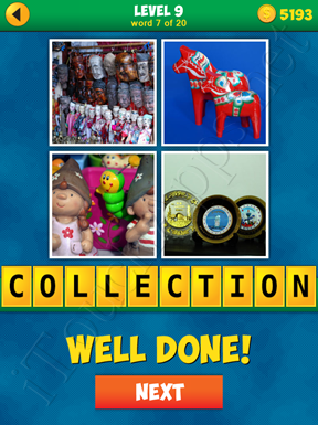 4 Pics 1 Word Puzzle - More Words - Level 9 Word 7 Solution