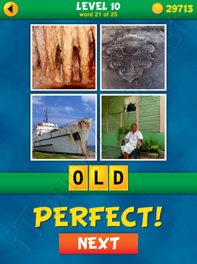 4 Pics 1 Word Puzzle - What's That Word Level 10 Word 21 Solution