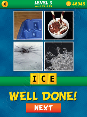 4 Pics 1 Word Puzzle - What's That Word Level 3 Word 15 Solution