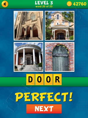 4 Pics 1 Word Puzzle - What's That Word Level 3 Word 20 Solution
