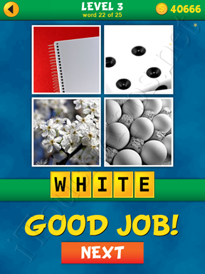 4 Pics 1 Word Puzzle - What's That Word Level 3 Word 22 Solution