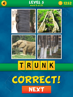 4 Pics 1 Word Puzzle - What's That Word Level 5 Word 9 Solution
