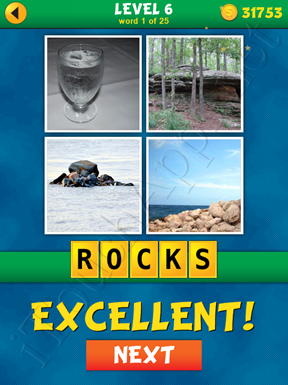 4 Pics 1 Word Puzzle - What's That Word Level 6 Word 1 Solution