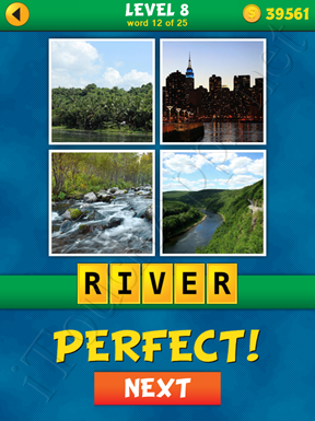4 Pics 1 Word Puzzle - What's That Word Level 8 Word 12 Solution