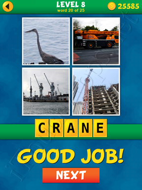 4 Pics 1 Word Puzzle - What's That Word Level 8 Word 20 Solution