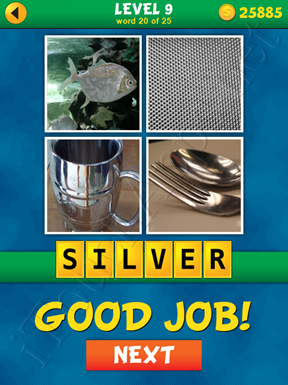 4 Pics 1 Word Puzzle - What's That Word Level 9 Word 20 Solution