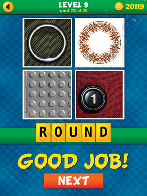 4 Pics 1 Word Puzzle - What's That Word Level 9 Word 23 Solution