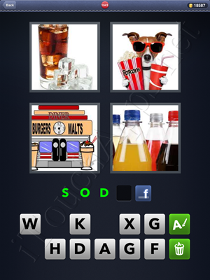 4 Pics 1 Word Level 1043 Solution