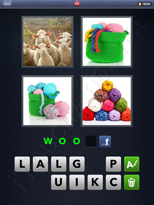4 Pics 1 Word Level 1045 Solution