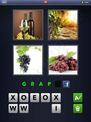 4 Pics 1 Word Level 1048 Solution