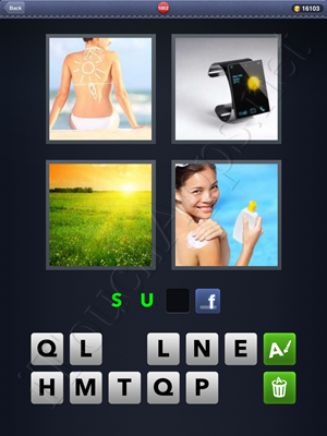 4 Pics 1 Word Level 1052 Solution
