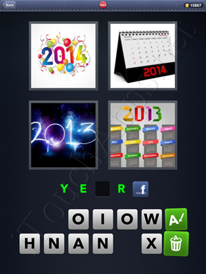 4 Pics 1 Word Level 1053 Solution