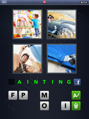 4 Pics 1 Word Level 1087 Solution