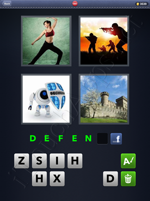 4 Pics 1 Word Level 1091 Solution
