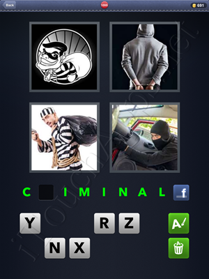 4 Pics 1 Word Level 1099 Solution