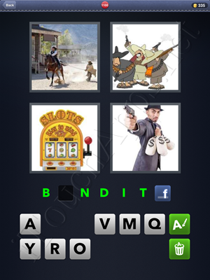 4 Pics 1 Word Level 1100 Solution