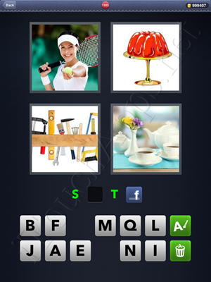 4 Pics 1 Word Level 1103 Solution