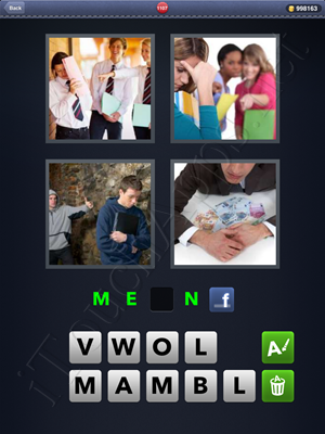 4 Pics 1 Word Level 1107 Solution