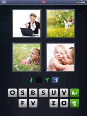 4 Pics 1 Word Level 1112 Solution
