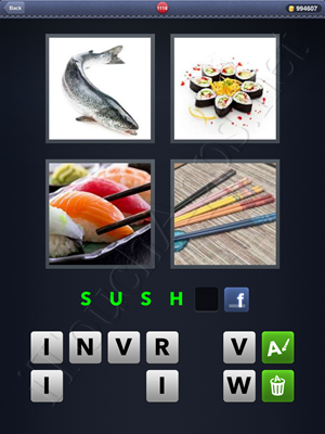 4 Pics 1 Word Level 1118 Solution