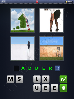 4 Pics 1 Word Level 1122 Solution